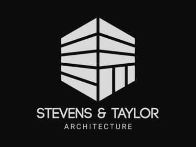 Daily Logo Challenge #43 - Stevens & Taylor architect logo architecture graphicdesign design logo logodesign dailylogo dailylogochallenge