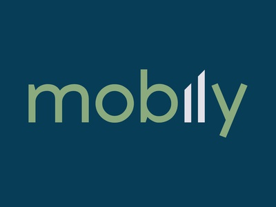 Daily Logo Challenge #48 - mobily phone cellphone graphicdesign design logo logodesign dailylogo dailylogochallenge