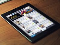iOS: Comic Book Store