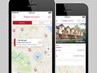 "iOS: Real Estate App ""Etagi"""