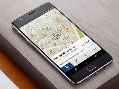 MAPS.ME + Booking.com