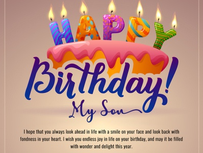 Happy birthday son son design birthday invitation birthday card image editing photoshop editing birthday quotes quotes wishes birthday happy birthday