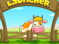 Cow Launcher iphone game