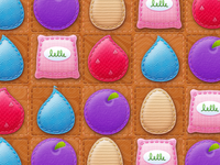 Art and GUI for LALALOOPSY 3-D WONDERLAND