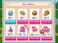 Art and GUI for game LALALOOPSY 3-D WONDERLAND