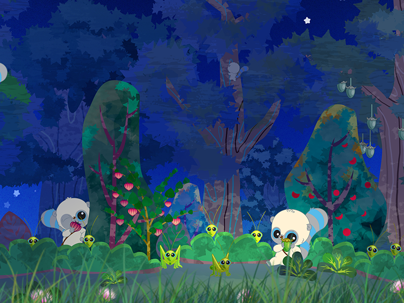 Yoohoo Story's background story game background