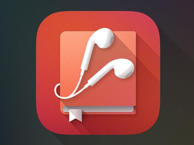 Audiobook Application Icon application icon