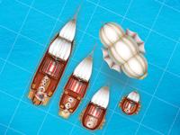 Staempunk ships pack.