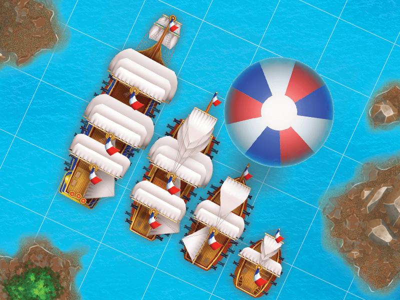 Franse Navy sail france ux ui art game ship