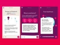 Mobile eLearning UI Design - JBA