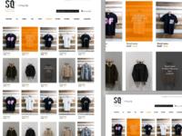 Esque mens fashion ecommerce