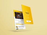 Resturant App Design