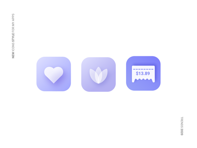 New icons style for my apps financial neumorphic neumorphism apple figma appdesign ios userexperience userinterface uiux app ux ui