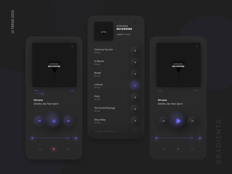 Music Player figma interface minimal design neumorphic neumorphism music player music app ui