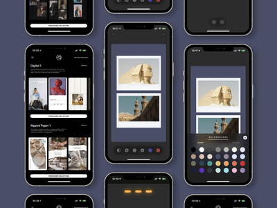 new vostok app / new ui / new stickers / new collections stories instagram design illustration ios userexperience userinterface uiux ux app ui