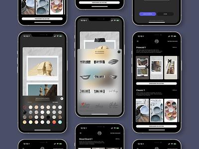 new vostok app / new ui / new stickers / new collections logo illustration design ios userexperience userinterface uiux ux app ui
