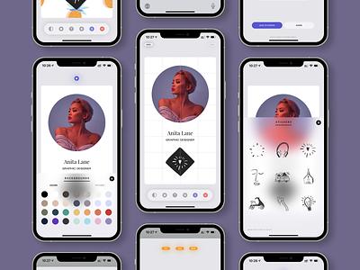 new vostok / new ui/ux / new collections illustration design ios userexperience userinterface uiux ux app ui