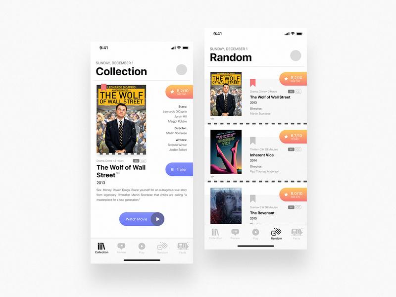 Movie App movie movie app design figma ios mobile userinterface userexperience uiux app ux ui