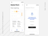 Simple UI Smart Home with Apple SF Symbols Systems