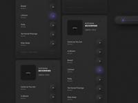 Music App, UI Trend 2020. Neumorphism