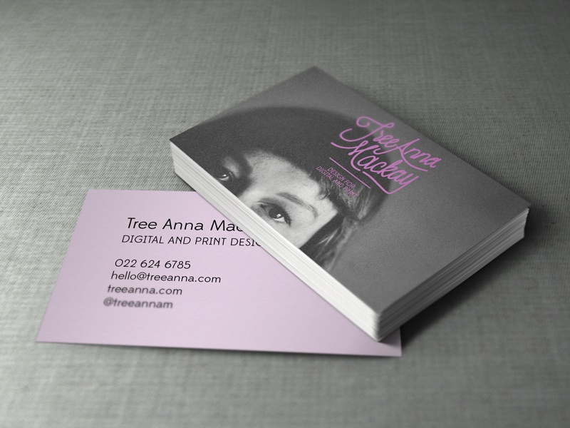 Business card design by tree anna mackay dribbble reheart Image collections