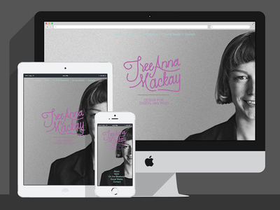 Website Design for Tree Anna Mackay