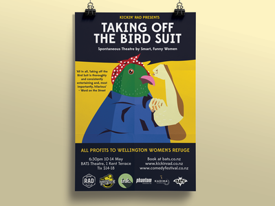 Taking Off the Bird Suit -  Poster