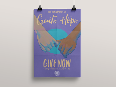 Create Hope Poster for Wellington Rape Crisis