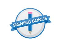 Online Signing Bonus