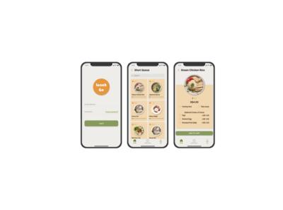 Lunchgo: Food-Pre order Mobile App app design ux ui