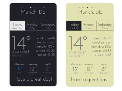 Weather App Screen 02 app design weather app weather illustration dribbbleweeklywarmup illustrator adobe design graphic design