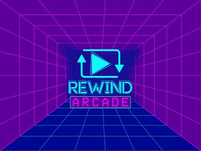 Retro Arcade Logo game logo illustration dribbbleweeklywarmup typography illustrator adobe design graphic design