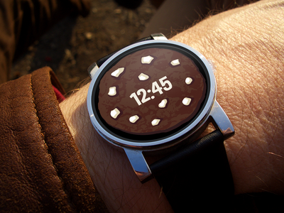 Double Chocolate Chip Watch Face (Android Wear)