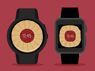Fruit Center Cookie Watch Face chocolate moto 360 android wear android watchface cookie