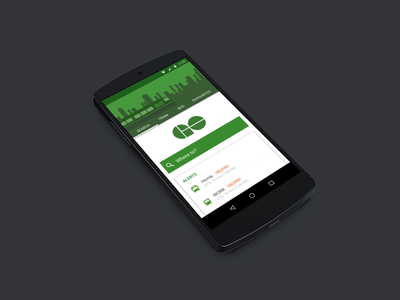 GO Transit App Redesign for Android material transit lollipop android bus train ux ui toronto go
