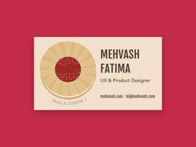 Business Card - fruit centre cookie