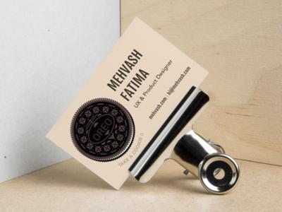 Business Card - oreo