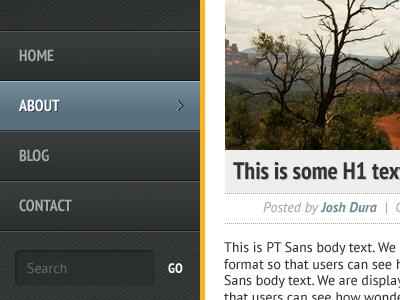 WordPress Theme Peek