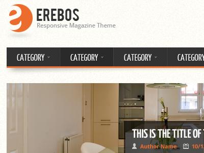 Erebos - Responsive Magazine Theme