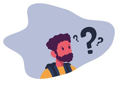 """No Result Found"" website design app clean vector illustrator art ux ui flat minimal illustration"