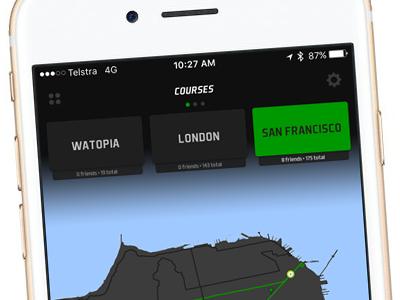 Zwift Concept zwift ui app