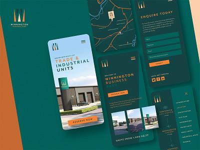 Mobile Website Design mobile ui ui design app mobile uiux dailyui adobe xd website web ux ui branding