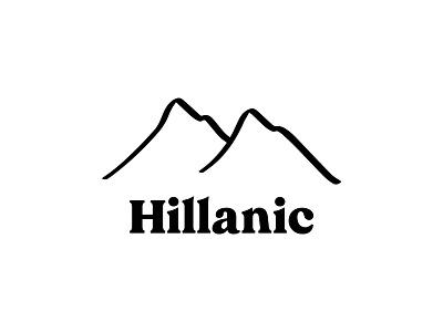 Hillanic Logo Design typography brand identity illustration brand creation logomark illustrated logo apparel logo graphic design logo design logo brand design branding