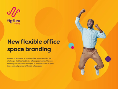 Office Space Branding web design ui vibrant colors office space offices colorful graphic design brand identity logo design logo brand design branding