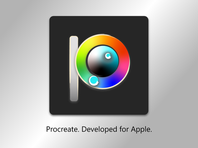 procreate app redesign logo design