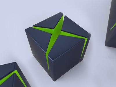 XBOX icon xbox ,3d