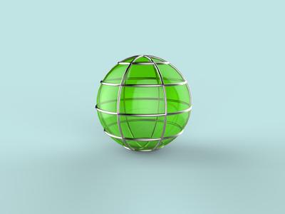 Globe 3d icon