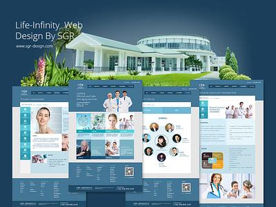 Medical Beauty Brand Website医疗美容网站设计 hospital website 医疗网站设计 医院网站设计 网站设计 医疗美容网站 medical cosmetology medical web  design web
