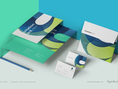Dropvision VI design brochure vi设计 画册 brand sgr-design.com design web