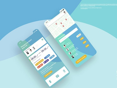 流程管理软件APP UI app 手机ui mobile app ui ui
